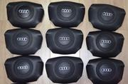 Для Audi A4,  A6 - подушка безопасности руля (Airbag,  SRS),  б/у